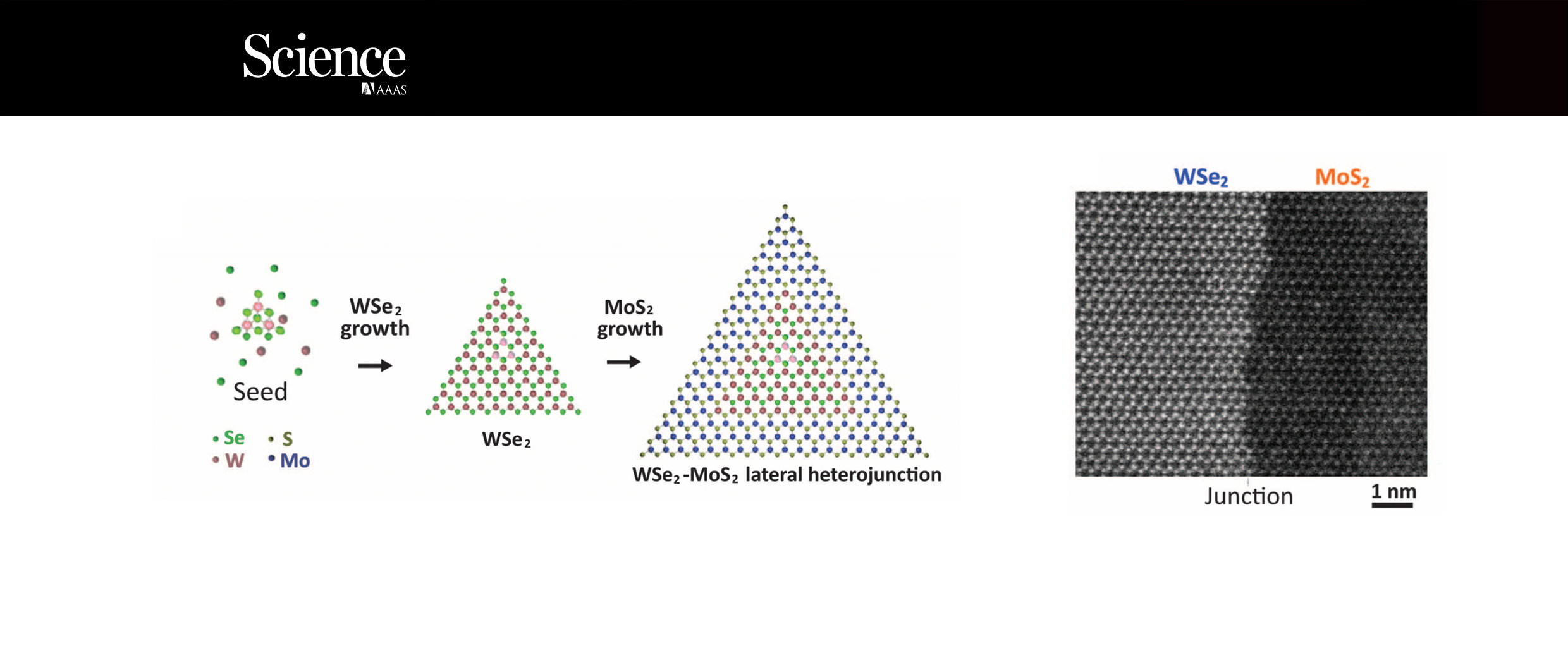 Epitaxial growth of a monolayer WSe2-MoS2 lateral p-n junction